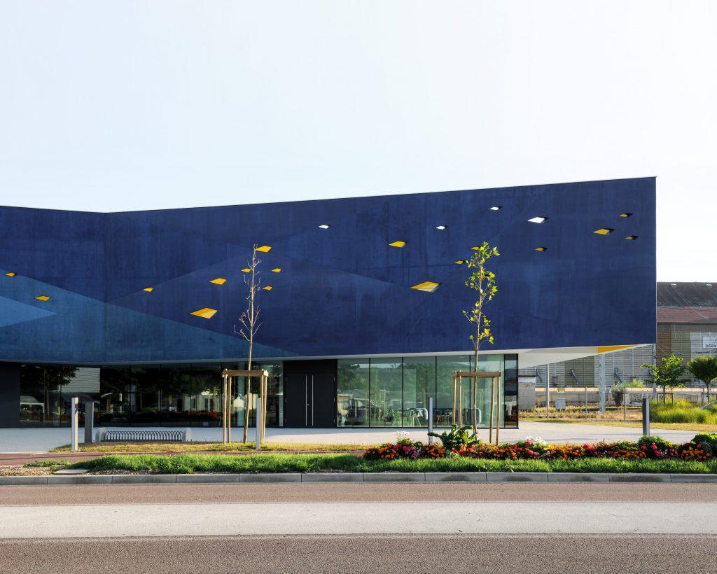 Community Centre in Venarey-Les Laumes   Dominique Coulon & Associés