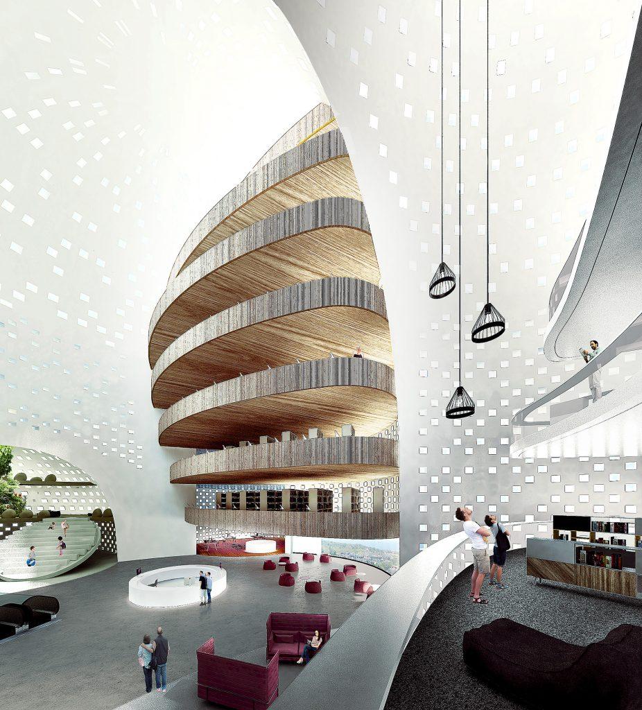 Library in Varna | Chybik+Kristof